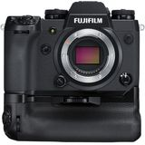 Fujifilm X-H1 Black Digital Camera Body with Vertical Battery Grip