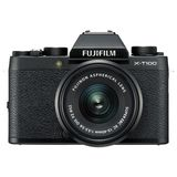 Fujifilm X-T100 Digital Camera with XC 15-45mm Lens - Black