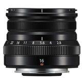 Fujifilm XF 16mm f2.8 R WR Black Lens