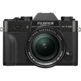 Fujifilm X-T30 Black Digital Camera with XF 18-55mm Lens