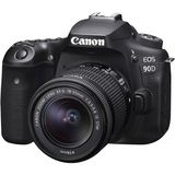 Canon EOS 90D | 18-55mm EF-S Lens | 32.5 MP | APS-C CMOS Sensor | 4K Video | Wi-Fi