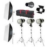Dorr BL 160Ws Studio Flash Complete Kit