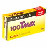 Kodak Professional Tmax ISO 100 120 Roll Black and White Print Film