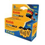 Kodak Ultramax GC 400 Color Negative 35mm 24 EXP Film - Pack of 3