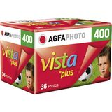 AgfaPhoto Vista Plus ISO 400 36 Exp 35mm Colour Print Film