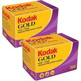 Kodak Gold 200 ISO 24 Exp 35mm Colour Print Film - Double Pack