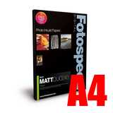 Fotospeed Matt DUO 240 Double Sided Photo Paper - A4 - 100 Sheet