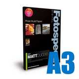 Fotospeed Matt DUO 240 Double Sided Photo Paper - A3 - 50 Sheet