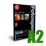 Fotospeed Pigment Friendly Gloss 270 Photo Paper - A2 - 25 Sheets