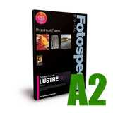 Fotospeed Pigment Friendly Lustre 190 Photo Paper - A2 - 50 Sheets