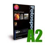 Fotospeed Metallic Gloss 275 Photo Paper - A2 - 25 Sheets