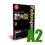 Fotospeed Platinum Matt 280 Photo Paper - A2 - 25 Sheets