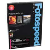 Fotospeed High White Smooth Duo 225 Double Sided Photo Paper - A4 - 25 Sheets