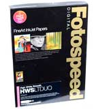 Fotospeed High White Smooth Duo 225 Double Sided Photo Paper - A3 - 25 Sheets