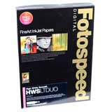 Fotospeed High White Smooth Duo 225 Double Sided Photo Paper - A2 - 25 Sheets