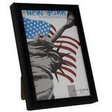 New York Black 5x3.5 Photo Frame