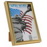 New York Gold 5x3.5 Photo Frame