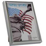 New York Silver 5x3.5 Photo Frame
