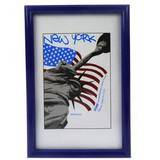 New York Blue 12x8 Photo Frame