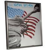 New York Steel 20x16 Photo Frame