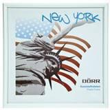 New York White 5x5 Square Photo Frame
