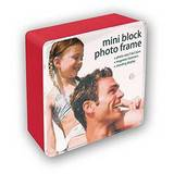 Red Mini Block Photo Frame