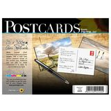 Permajet Make Your Own Postcards 6x4 Gloss 300gsm Pack of 25 with Sleeves