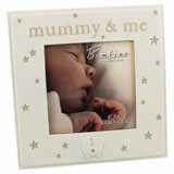 Bambino Mummy and Me Square Photo Frame for 4x4 Inch Photo