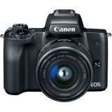 Customer Return Canon EOS M50 Camera with 15-45mm Lens