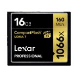Customer Return Lexar 16GB Professional UDMA 7 CompactFlash 1066x Memory Card