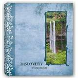 Discovery Blue Traditional Photo Album - 100 Sides