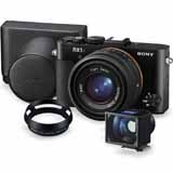 Sony RX1R II | 42.4 MP | Full Frame CMOS Sensor | Full HD Video | Premium Accessory Kit