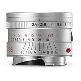 Ex-Demo Leica Summarit-M 35mm F2.4 ASPH Silver Lens 11679