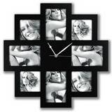 Photo Time Taranto Multiple Aperture Photo Frame and Clock