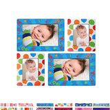 Self-Adhesive Photo Frame Wall Stickers, 4 Pieces, Lots of Colours and Patterns