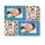 Sticky Photo Frame for 4 Photos - Balloons