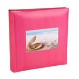 Holiday Shell Design Cerise Slip In 6x4 Photo Album - 200 Photos
