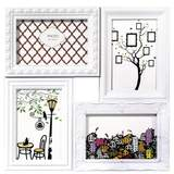 White Multi Picture Photo Frame Overall Size Approx 13