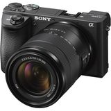 Sony A6500 | 18-135mm F3.5-5.6 OSS Lens | 24.2 MP | APS-C CMOS Sensor | 4K Video | Wi-Fi