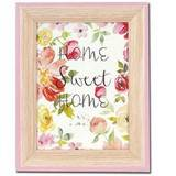 Spring Pink Wood 12x8 Photo Frame