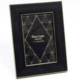Black & Gold 6x4 Photo Frame
