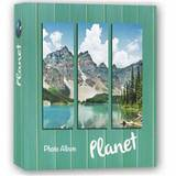 Planet Green 7.5x5 Slip In Photo Album 200 Photos Overall Size 11x10.75