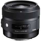 Sigma 30mm f1.4 A DC HSM Lens - Canon Fit