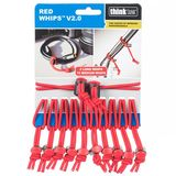 Think Tank Red Whips Adjustable Elastic Cable Ties V2.0