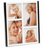 Walther Jive Glass Multiple Aperture Photo Frame For 4 Photos