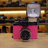 Used Lomography Mr Pink Diana F Medium Format Camera