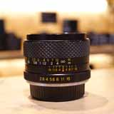 Used Yashica DSB 28mm F2.8 Lens