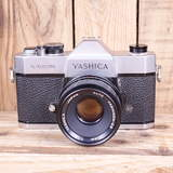 Used Yashica TL Electro X SLR Camera with M42 50mm F1.9 Lens