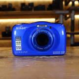 Used Nikon Coolpix W100 Waterproof Digital Camera