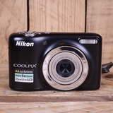 Used Nikon Coolpix L25 Black Digital Camera
